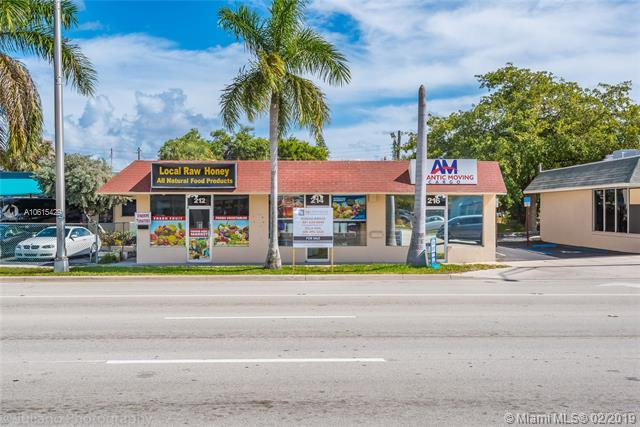 212-216 S Federal Hwy, Pompano Beach, FL 33062 (MLS #A10615429) :: Grove Properties