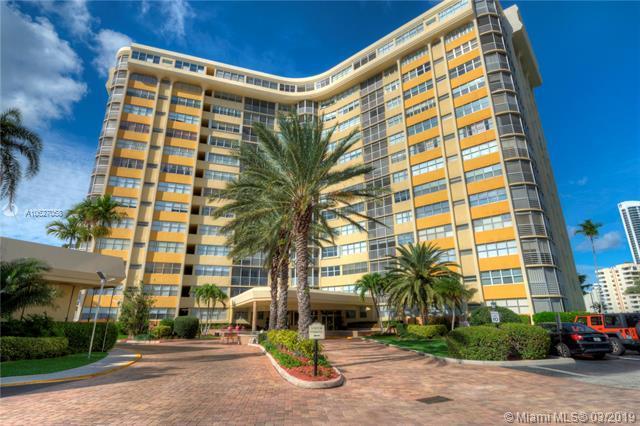 100 Golden Isles Dr #310, Hallandale, FL 33009 (MLS #A10627058) :: Berkshire Hathaway HomeServices EWM Realty