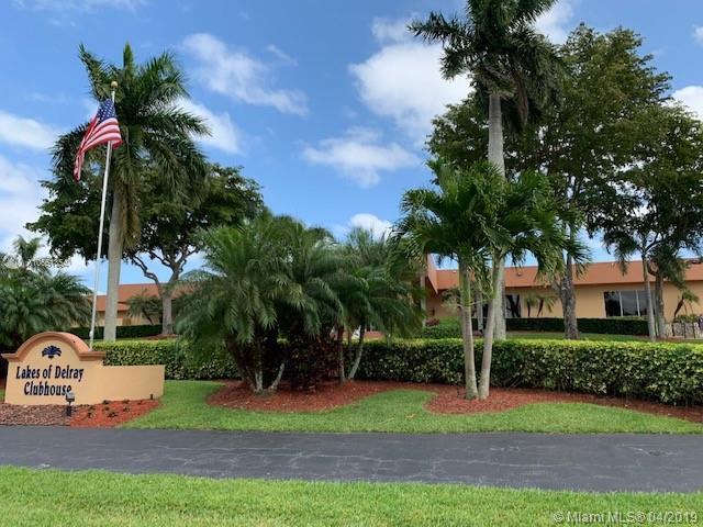 15072 Ashland Pl #123, Delray Beach, FL 33484 (MLS #A10651354) :: The Riley Smith Group