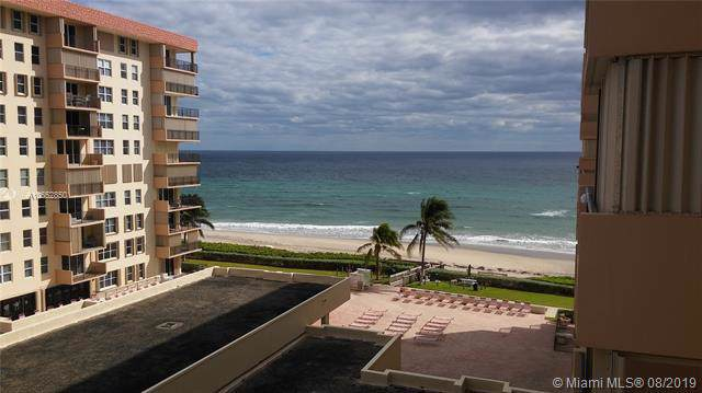 1147 Hillsboro Mile 605S, Hillsboro Beach, FL 33062 (MLS #A10652850) :: Ray De Leon with One Sotheby's International Realty