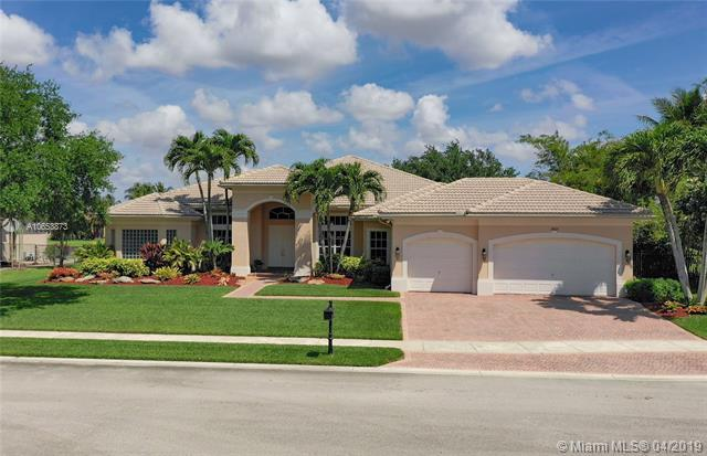 14825 SW 34th St., Davie, FL 33331 (MLS #A10653873) :: Grove Properties