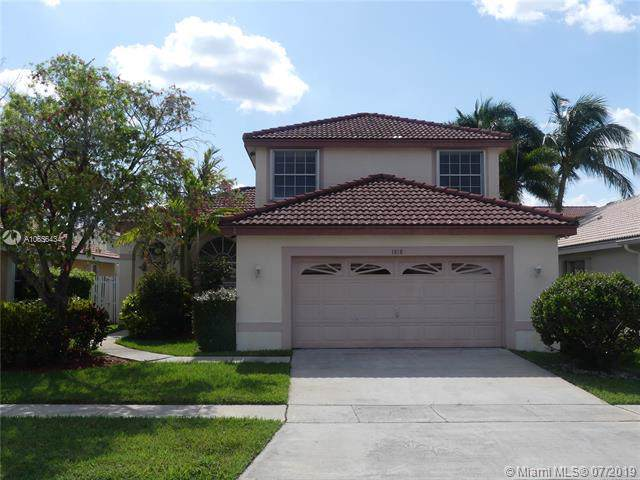1818 SW 182nd Ave, Miramar, FL 33029 (MLS #A10656434) :: Ray De Leon with One Sotheby's International Realty