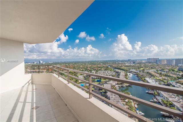 2500 Parkview Dr #2406, Hallandale, FL 33009 (MLS #A10659300) :: The Brickell Scoop