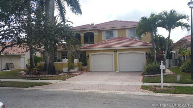 18460 SW 4th St, Pembroke Pines, FL 33029 (MLS #A10661420) :: The Brickell Scoop