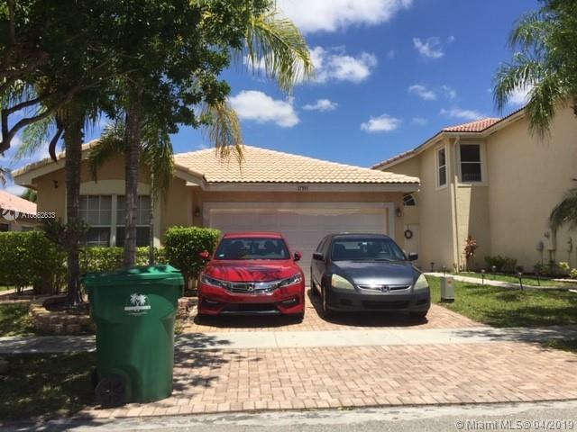 17395 SW 20th St, Miramar, FL 33029 (MLS #A10662633) :: United Realty Group