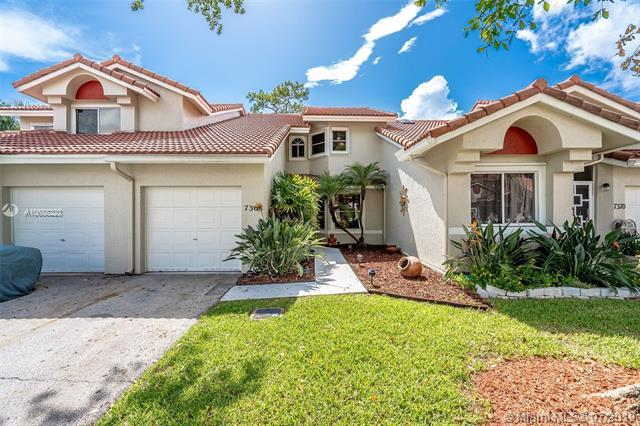 7368 S Pinewalk Dr S 47-10, Margate, FL 33063 (MLS #A10688223) :: Grove Properties