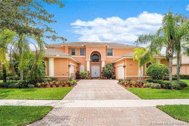 3795 E Coquina Way, Weston, FL 33332 (MLS #A10696247) :: The Teri Arbogast Team at Keller Williams Partners SW