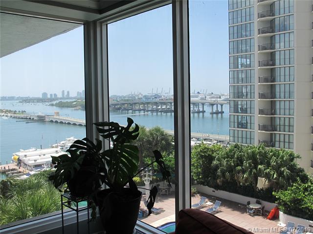 1717 N Bayshore Dr A-1545, Miami, FL 33132 (MLS #A10696774) :: Grove Properties