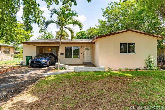 3611 NW 8th Pl, Lauderhill, FL 33311 (MLS #A10697608) :: Grove Properties