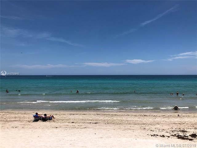 3140 S Ocean Dr #2205, Hallandale, FL 33009 (MLS #A10700910) :: The Paiz Group