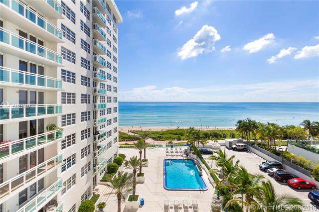 6917 E Collins Ave #811, Miami Beach, FL 33141 (MLS #A10710791) :: Green Realty Properties