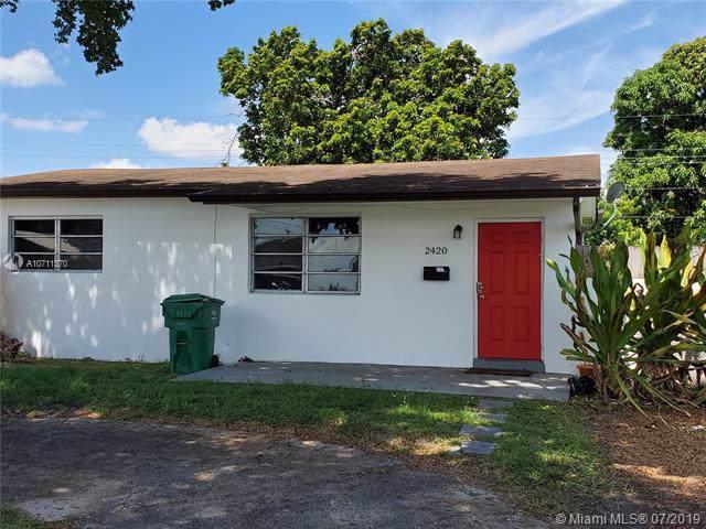 2420 Kingston Dr, Miramar, FL 33023 (MLS #A10711370) :: Green Realty Properties