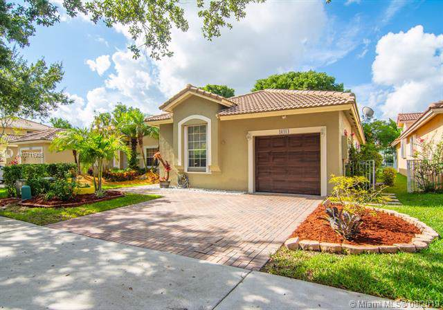 16414 Sapphire St, Weston, FL 33331 (MLS #A10711936) :: The Teri Arbogast Team at Keller Williams Partners SW