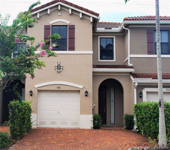 1012 NW 33rd Ct, Pompano Beach, FL 33064 (MLS #A10713628) :: The Paiz Group