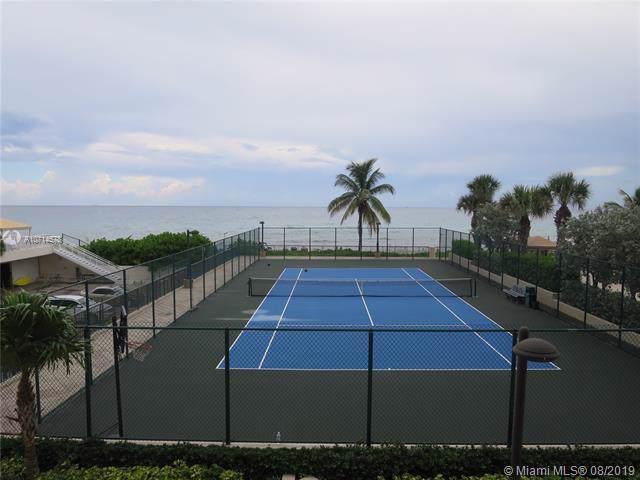1912 S Ocean Dr 3D, Hallandale, FL 33009 (MLS #A10714578) :: Berkshire Hathaway HomeServices EWM Realty