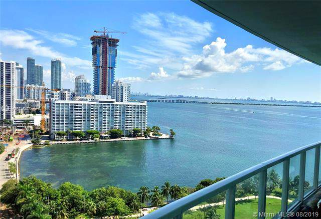 1900 N Bayshore Dr #1706, Miami, FL 33132 (MLS #A10715473) :: The Teri Arbogast Team at Keller Williams Partners SW