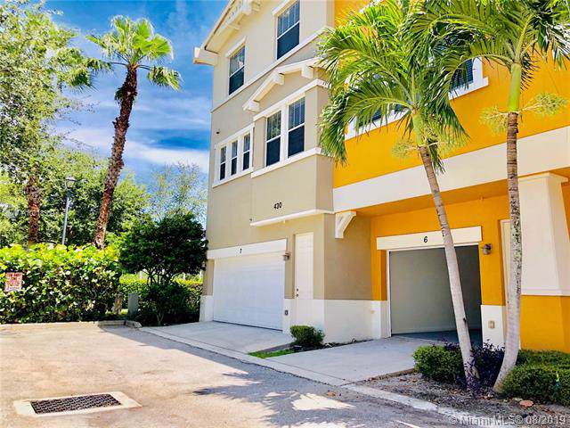 430 Amador Ln #6, West Palm Beach, FL 33401 (MLS #A10718309) :: Ray De Leon with One Sotheby's International Realty