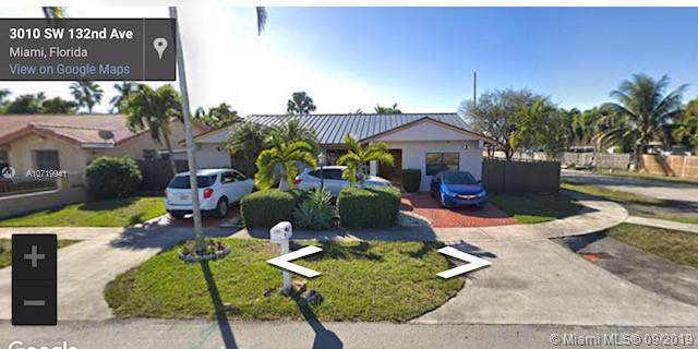 3010 SW 132nd Ave, Miami, FL 33175 (MLS #A10719941) :: Berkshire Hathaway HomeServices EWM Realty