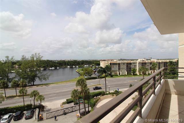 500 Three Islands Blvd #312, Hallandale, FL 33009 (MLS #A10725641) :: The Riley Smith Group