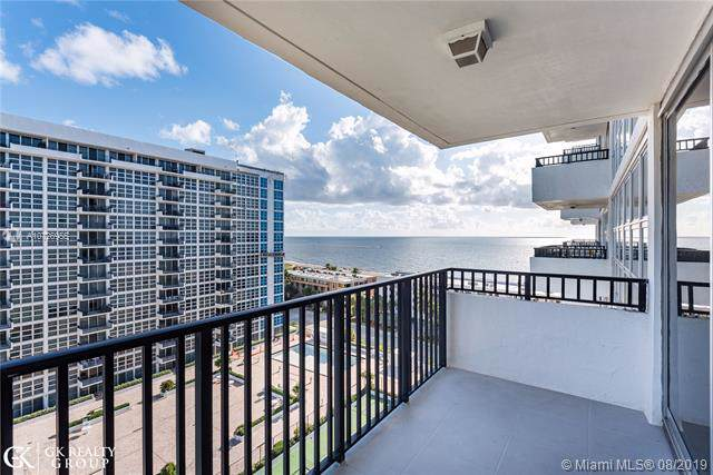 525 N Ocean Blvd #1418, Pompano Beach, FL 33062 (MLS #A10726955) :: The Kurz Team