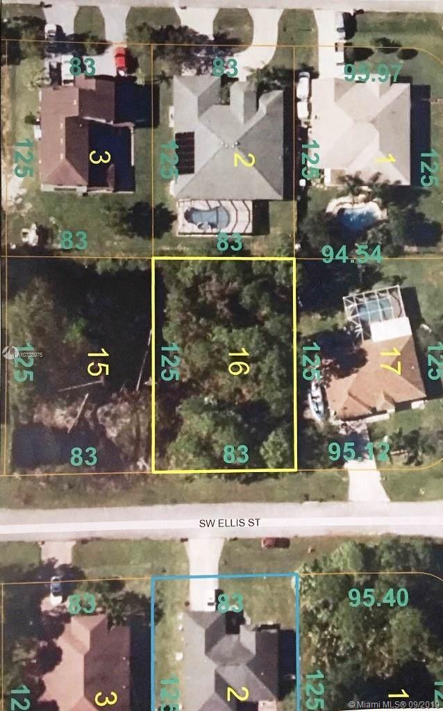 3416 Ellis St, Port Saint Lucie, FL 34953 (MLS #A10738975) :: Grove Properties