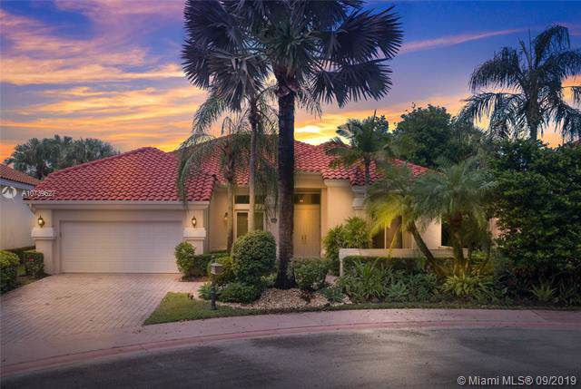 2713 Oakmont Ct, Weston, FL 33332 (MLS #A10739627) :: The Riley Smith Group