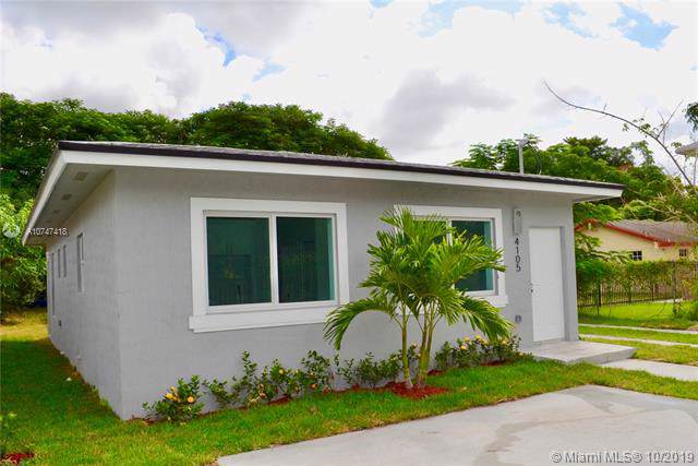 4105 NW 24th Ave #1, Miami, FL 33142 (MLS #A10747418) :: Grove Properties