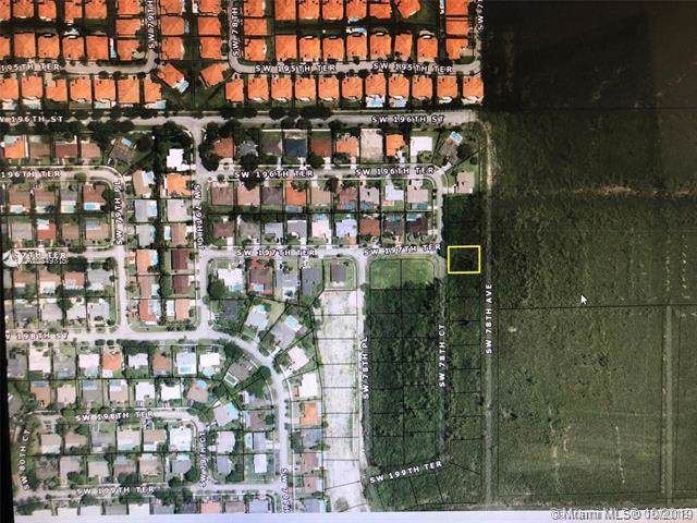 19741 SW 78th Ct, Cutler Bay, FL 33189 (MLS #A10749715) :: The Riley Smith Group