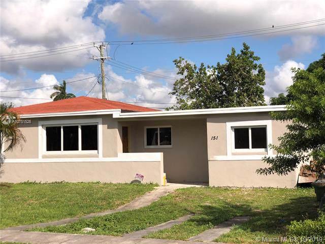 151 NE 122nd St, North Miami, FL 33161 (MLS #A10751526) :: Grove Properties