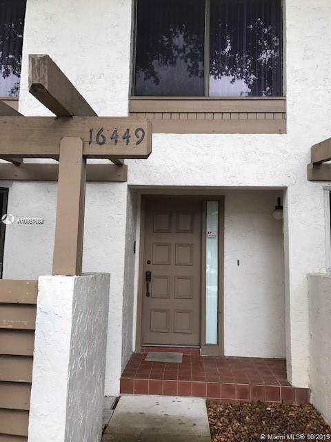16449 NE 26th Ave #16, North Miami Beach, FL 33160 (MLS #A10751782) :: RICK BANNON, P.A. with RE/MAX CONSULTANTS REALTY I