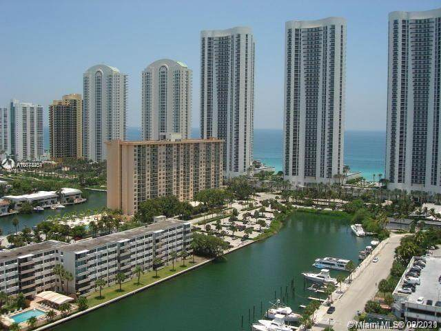 300 Bayview Dr #2001, Sunny Isles Beach, FL 33160 (MLS #A10773451) :: Castelli Real Estate Services