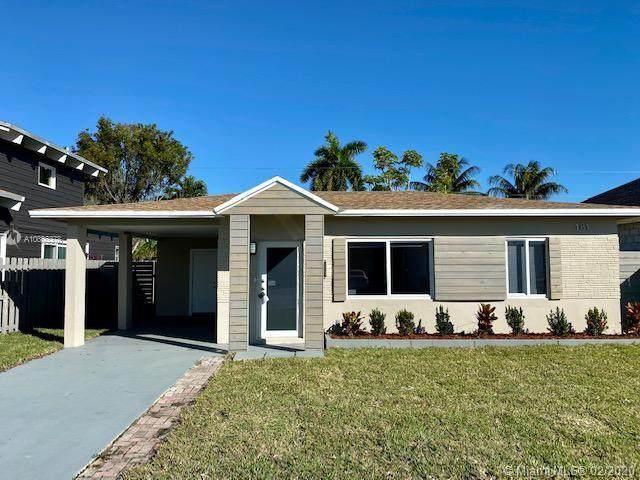 181 NW 45th St, Oakland Park, FL 33309 (MLS #A10803378) :: Grove Properties