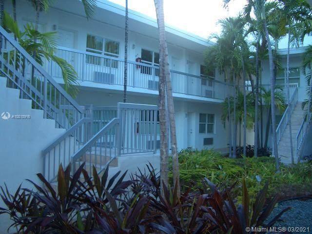 8080 Tatum Waterway Dr #12, Miami Beach, FL 33141 (MLS #A10815916) :: The Riley Smith Group