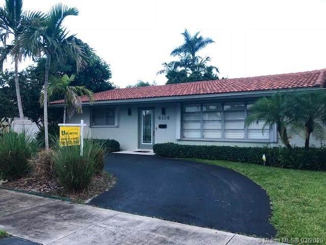 4114 Taylor St, Hollywood, FL 33021 (MLS #A10823022) :: Prestige Realty Group
