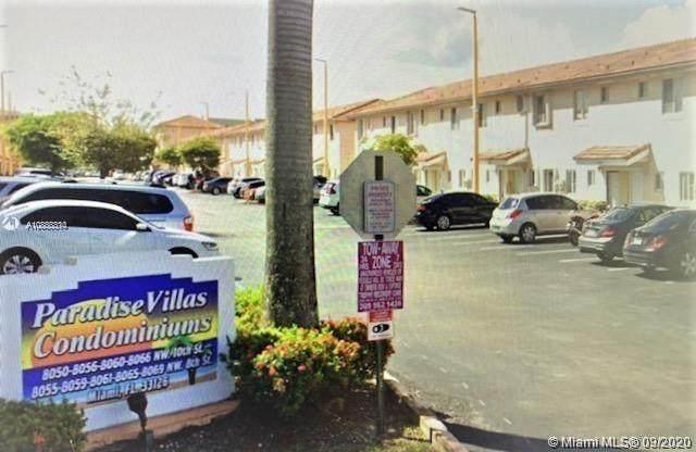 8055 NW 8th St #2, Miami, FL 33126 (MLS #A10863314) :: Berkshire Hathaway HomeServices EWM Realty