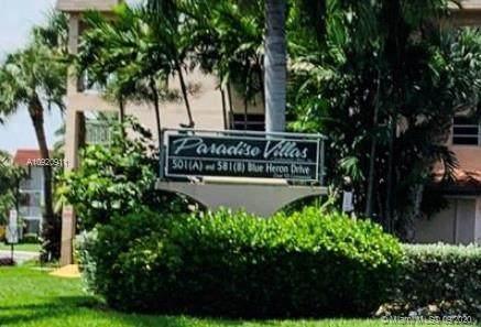 501 Blue Heron Dr 304-A, Hallandale Beach, FL 33009 (MLS #A10920911) :: Berkshire Hathaway HomeServices EWM Realty