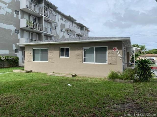 1847 Plunkett St, Hollywood, FL 33020 (MLS #A10942607) :: Carole Smith Real Estate Team