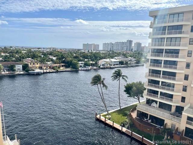 3100 NE 49th St #805, Fort Lauderdale, FL 33308 (MLS #A10942752) :: The Rose Harris Group