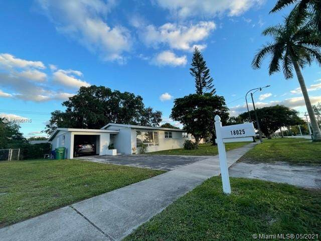 18025 NW 17th Ave, Miami Gardens, FL 33056 (MLS #A10961716) :: The Riley Smith Group