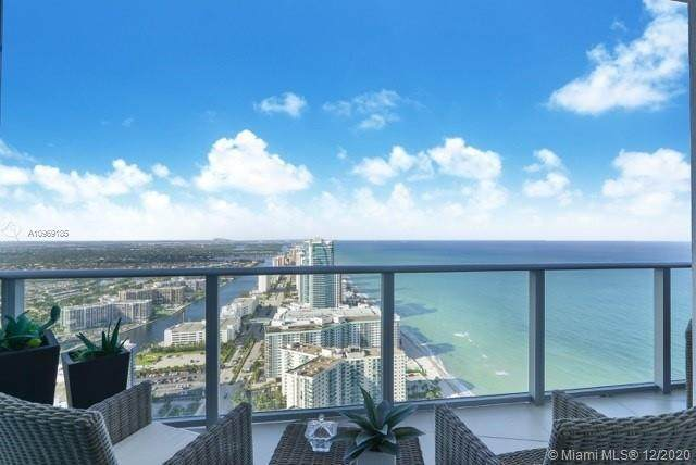 4111 S Ocean Dr Uph6, Hollywood, FL 33019 (MLS #A10969185) :: Search Broward Real Estate Team