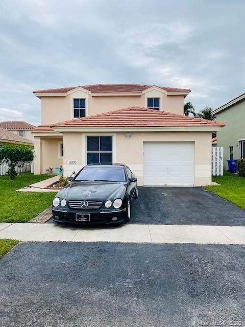 18570 NW 22nd Ct, Pembroke Pines, FL 33029 (MLS #A10981897) :: Prestige Realty Group