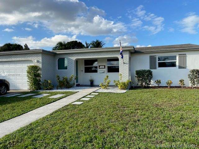 6521 NW 2nd St, Margate, FL 33063 (MLS #A11007878) :: The Riley Smith Group