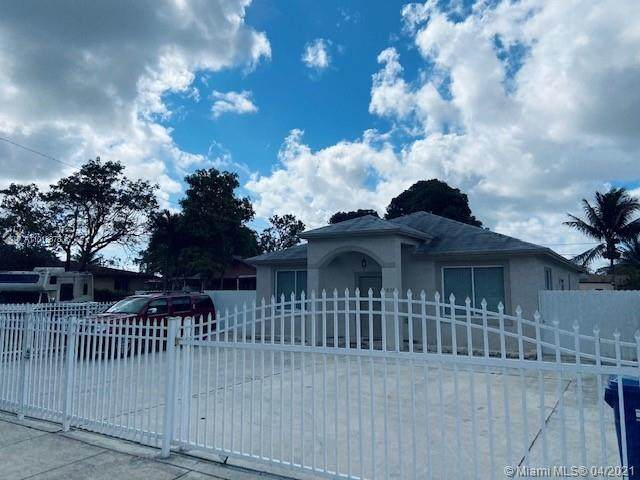2828 NW 101st St, Miami, FL 33147 (MLS #A11018878) :: Prestige Realty Group