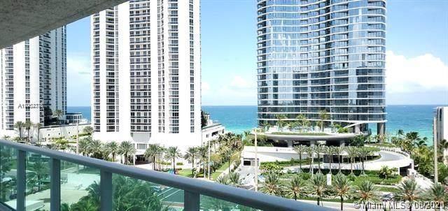 100 Bayview Dr #1008, Sunny Isles Beach, FL 33160 (MLS #A11052316) :: The MPH Team