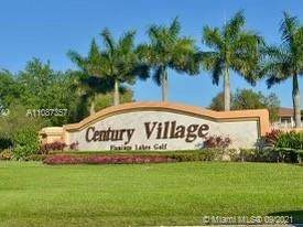 551 SW 135th Ave 417B, Pembroke Pines, FL 33027 (MLS #A11087357) :: Equity Realty