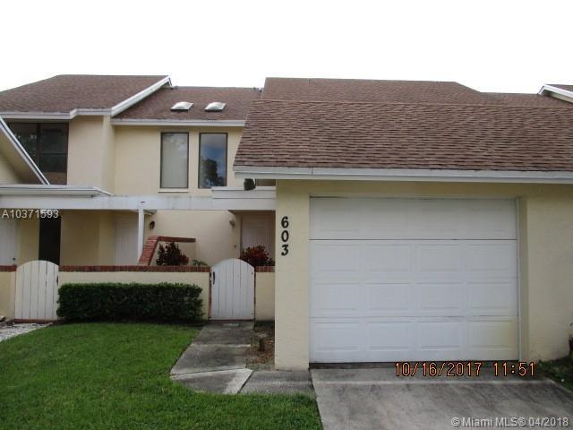 603 Maplewood Dr #0, Green Acres, FL 33415 (MLS #A10371593) :: Hergenrother Realty Group Miami