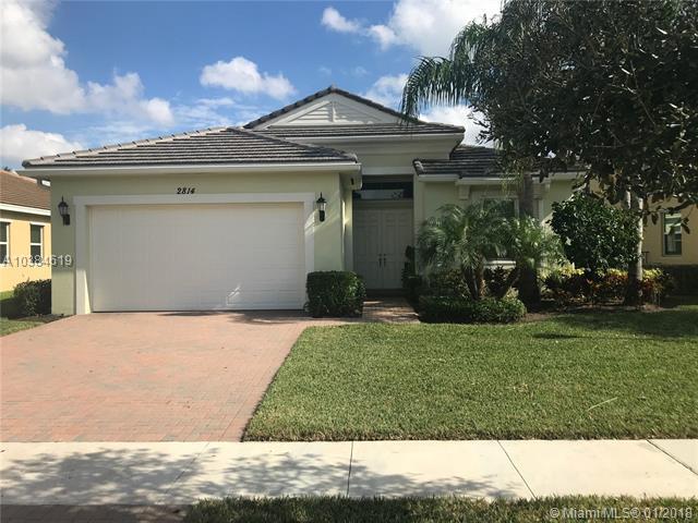 2814 Bellarosa Cir, Royal Palm Beach, FL 33411 (MLS #A10384619) :: The Teri Arbogast Team at Keller Williams Partners SW