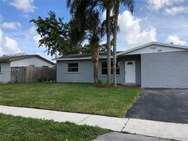 520 SW 72nd Ter, North Lauderdale, FL 33068 (MLS #A10404176) :: The Teri Arbogast Team at Keller Williams Partners SW
