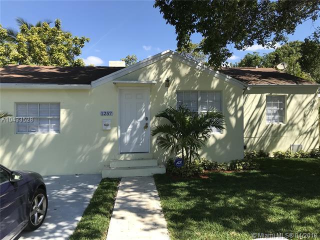 1257 SW 20th St, Miami, FL 33145 (MLS #A10433528) :: Carole Smith Real Estate Team