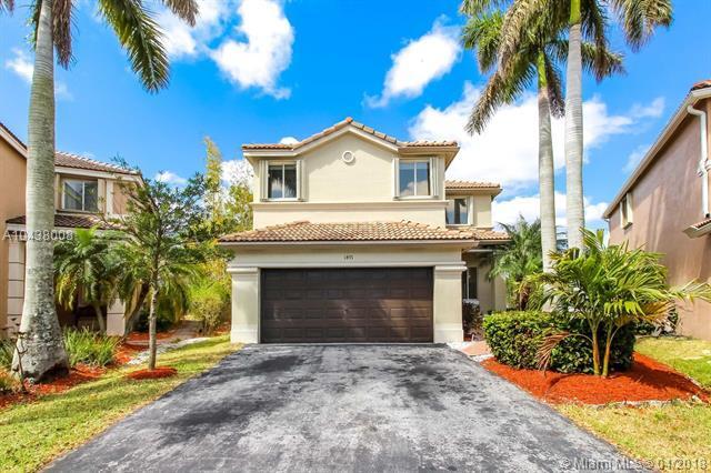 1491 Sunset Way, Weston, FL 33327 (MLS #A10438008) :: The Teri Arbogast Team at Keller Williams Partners SW